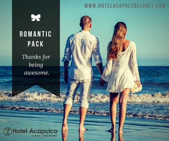 Pack Romantique hotel Acapulco Lloret