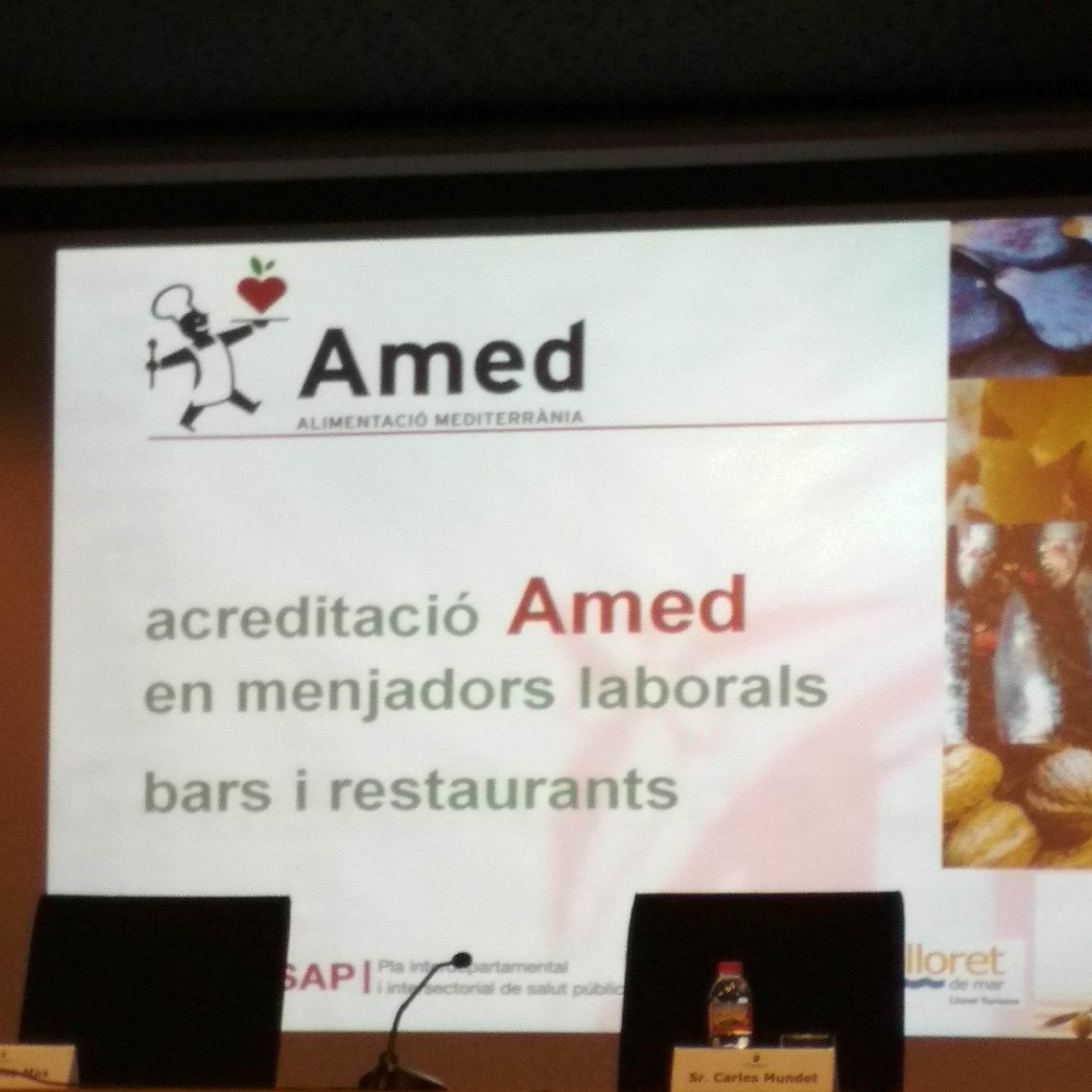 Presentació del programa AMED