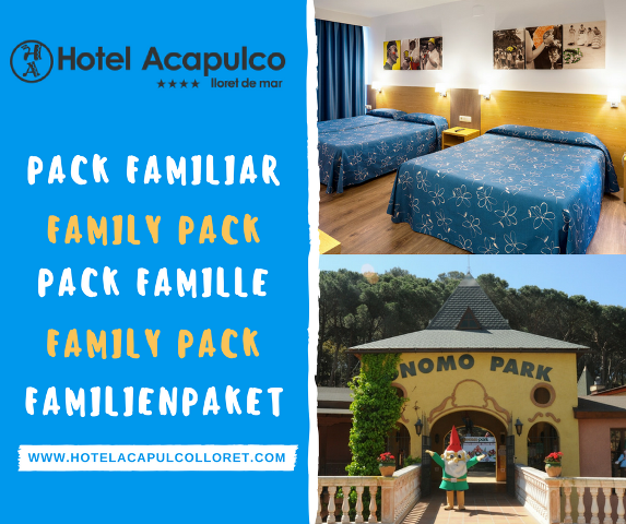 Pack familiar hotel Acapulco LLoret