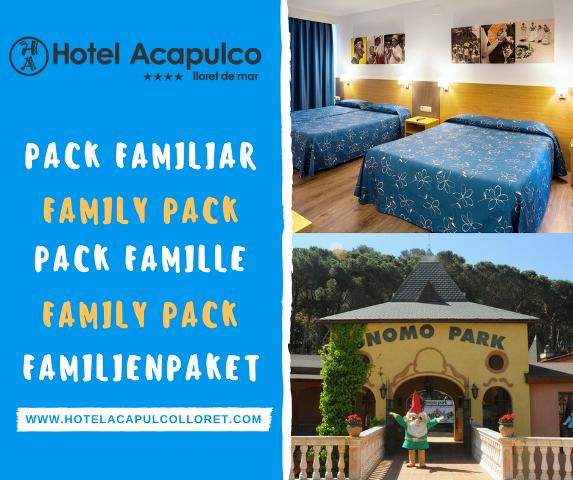 Familien Pack hotel Acapulco Lloret