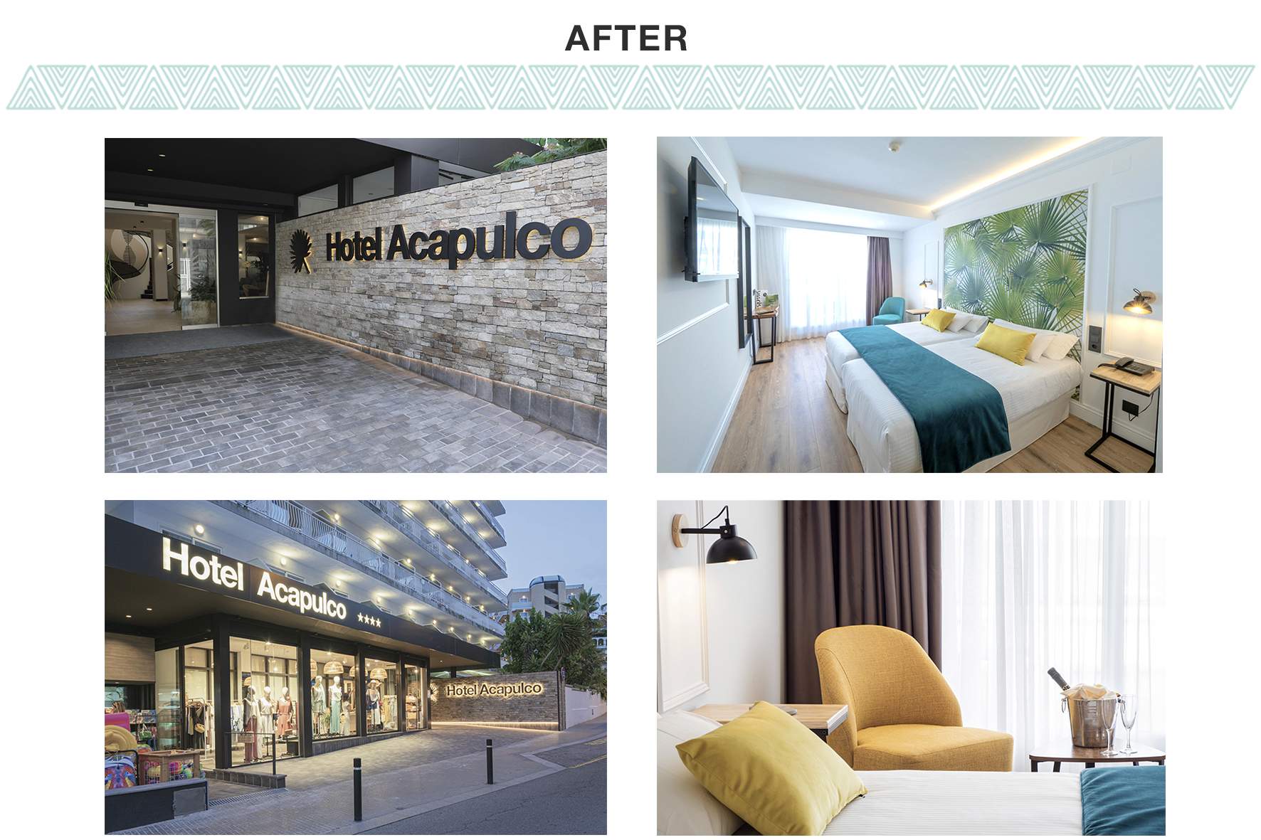 Rénovation 2019 Hotel Acapulco Lloret