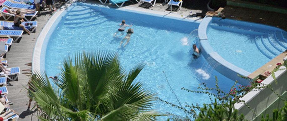 Swimming Pool Hotel Acapulco Lloret De Mar Gironahotel Acapulco Lloret De Mar