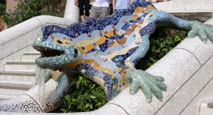 Reptil_Parc_Guell_Barcelona