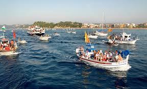 Santa Cristina procession, Lloret de Mar