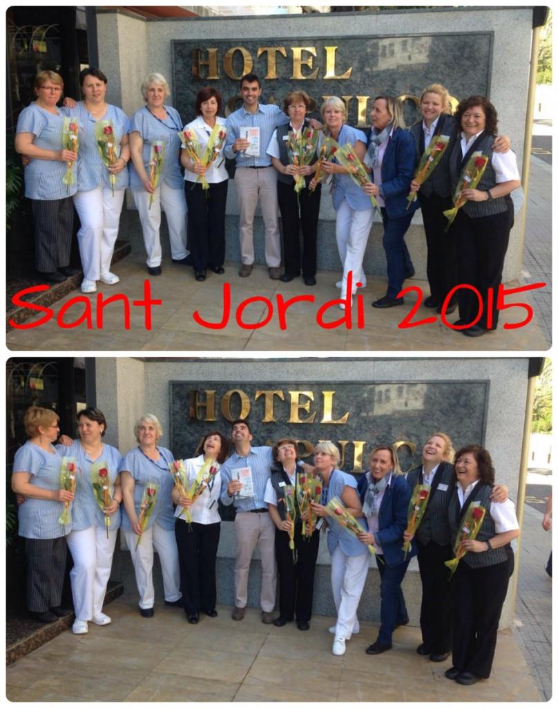Sant Jordi 2015 - Hotel Acapulco Lloret